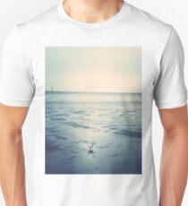 Bues bird enjoys the ebb T-Shirt