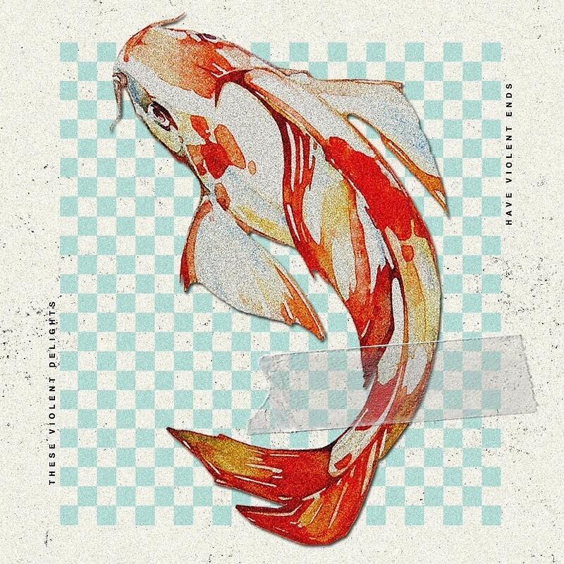 Hopeless fountain kingdom koi fish stickers by bbyiriee for Koi fish fountain