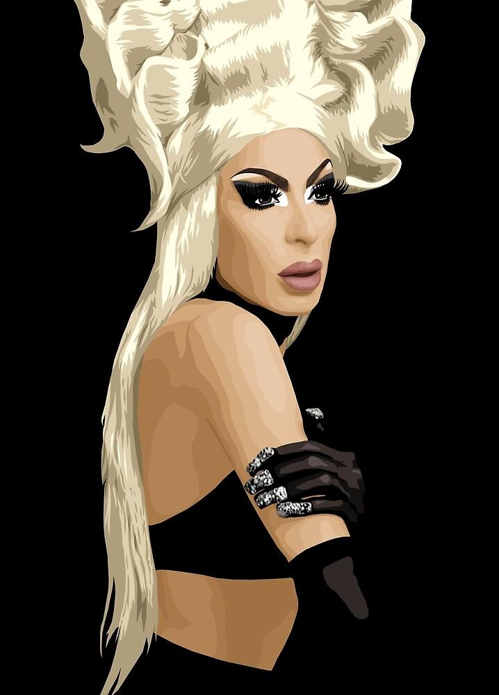 Alaska Thvnderfvck 5000, Drag Queen, RuPaul's Drag Race by vixxitees