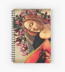 She Wore a Crown of Amaryllis Spiral Notebook