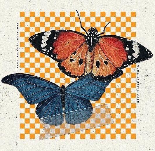hopeless fountain kingdom butterfly design by bbyiriee