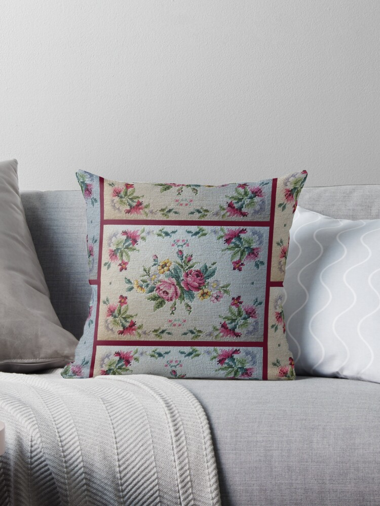 Old Country NeedlePoint Rose Chintz by ktmom