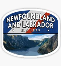 Newfoundland & Labrador Sticker