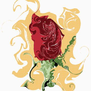 The Dancing Rose by DesignBliss