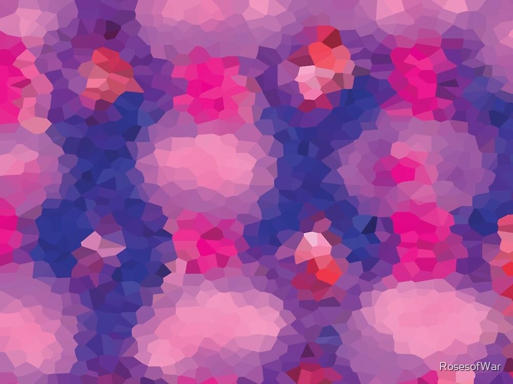 Purple Pink Puff gem pattern by RosesofWar