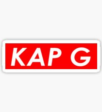 KAP G Sticker