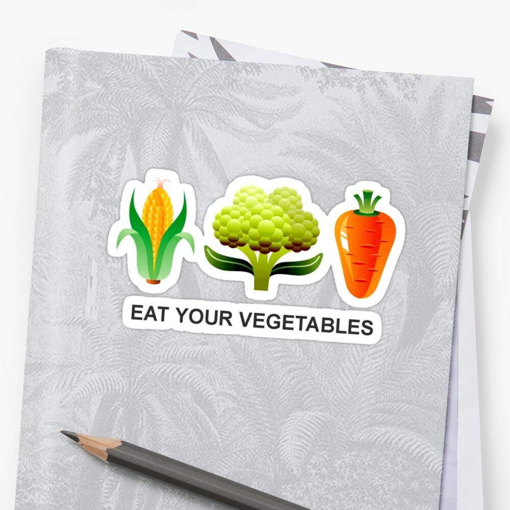 Eat Your Vegetables by Blahzeedee