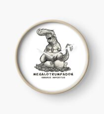 Megalotrumpadon - Dinosaur of Politics Clock