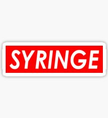 SYRINGE Sticker