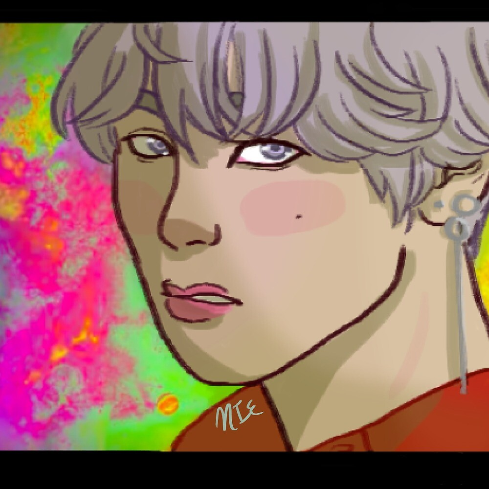 DNA ~ Taehyung by emeraldartistry
