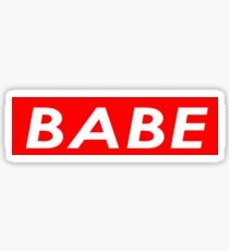 BABE Sticker