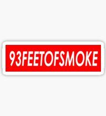 93FEETOFSMOKE Sticker