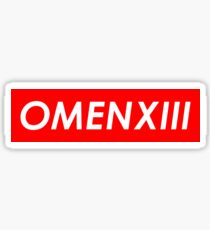 OMENXIII Sticker