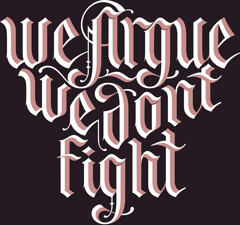 Blackletter Inspiring Quote by Seen&Felt ✨