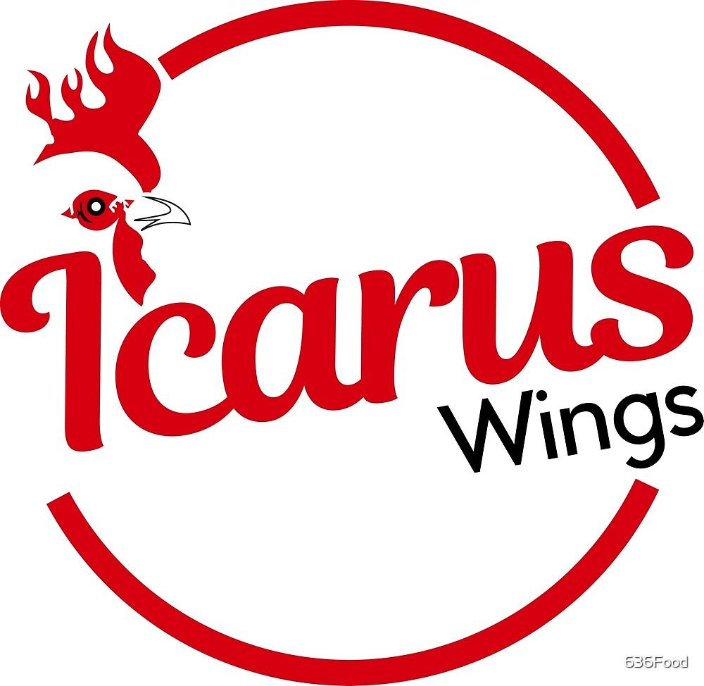 alternative IcarusWings logo by 636Food