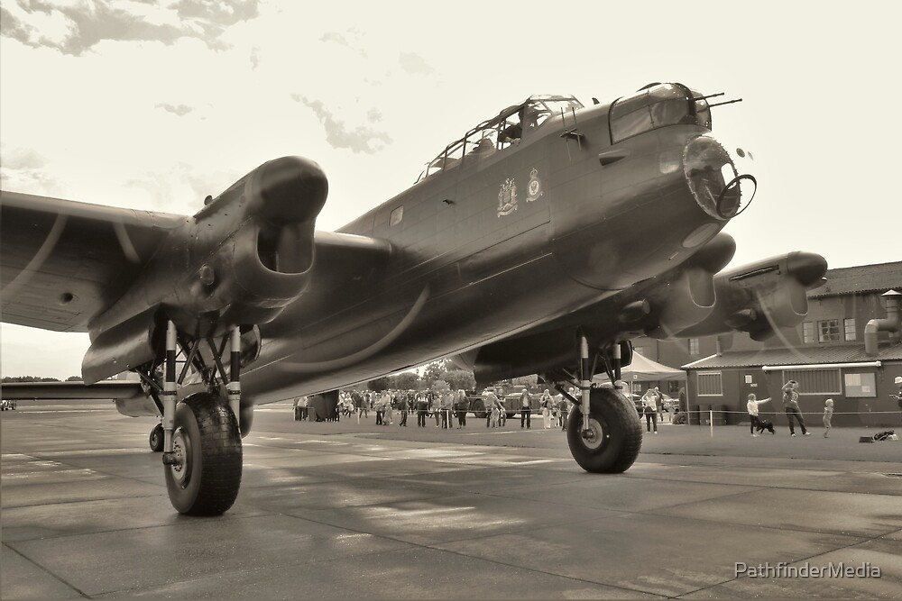 Avro Lancaster 'Just Jane' - Give Me Full Power!!! by PathfinderMedia