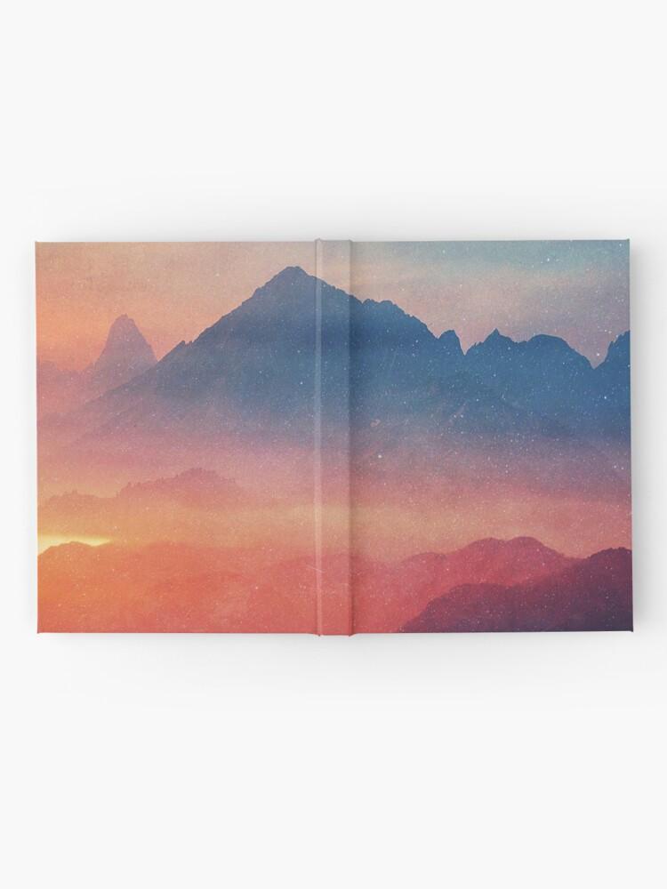 Alternative Ansicht von Landschaft Notizbuch