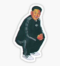 Tracksuit Rocket Man Sticker