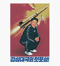 Tracksuit Rocket Man Photographic Print