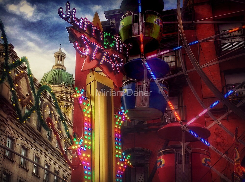 At the Feast of San Gennaro - Little Italy, New York City USA - Colors of Joy by Miriam Danar