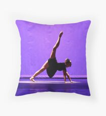 """""""The Sound of Silence"""" Throw Pillow"""