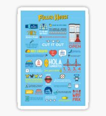 Fuller House Quotes Sticker