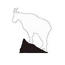 Rocky Mountain Goat by Lorie Warren