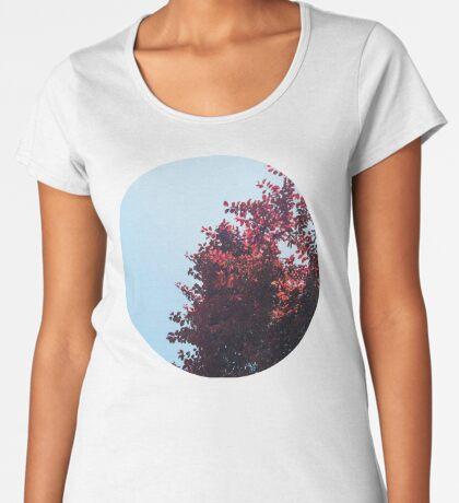 Lieber roter Baum Frauen Premium T-Shirts