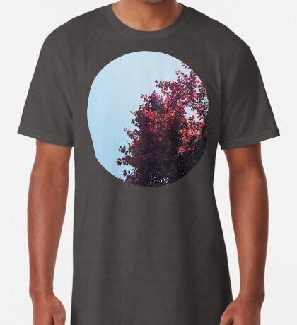 Lieber roter Baum Longshirt