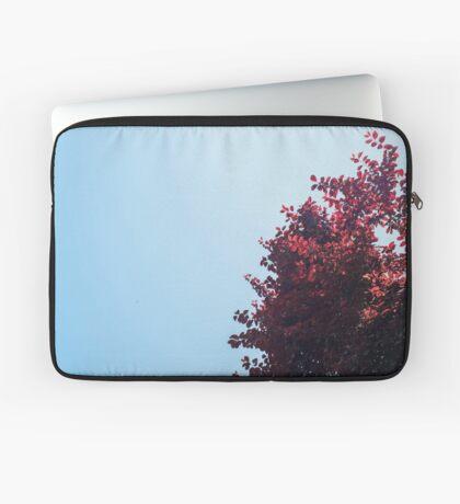 Lieber roter Baum Laptoptasche