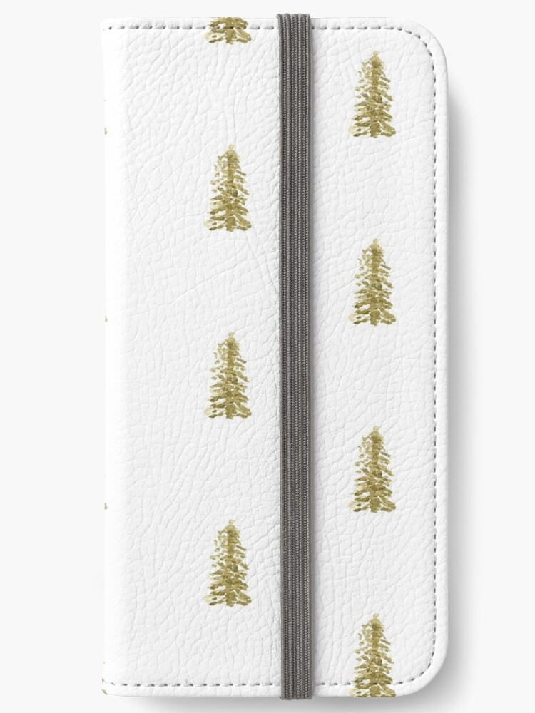 Pine Tree Phone Case and Phone Wallet by Brookelle Hunter