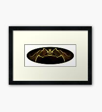 Gothic Batman Framed Print