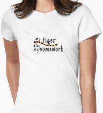My Tiger Ate My Homework-Calvin and Hobbes T-Shirt