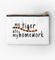 My Tiger Ate My Homework-Calvin and Hobbes Studio Pouch
