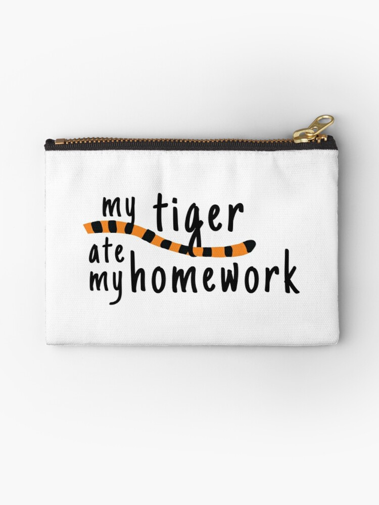 My Tiger Ate My Homework-Calvin and Hobbes by clairefromke