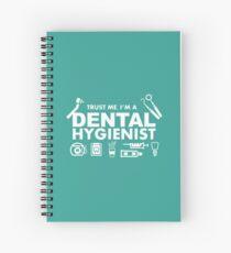 Cuaderno de espiral Confía en mí, soy higienista dental