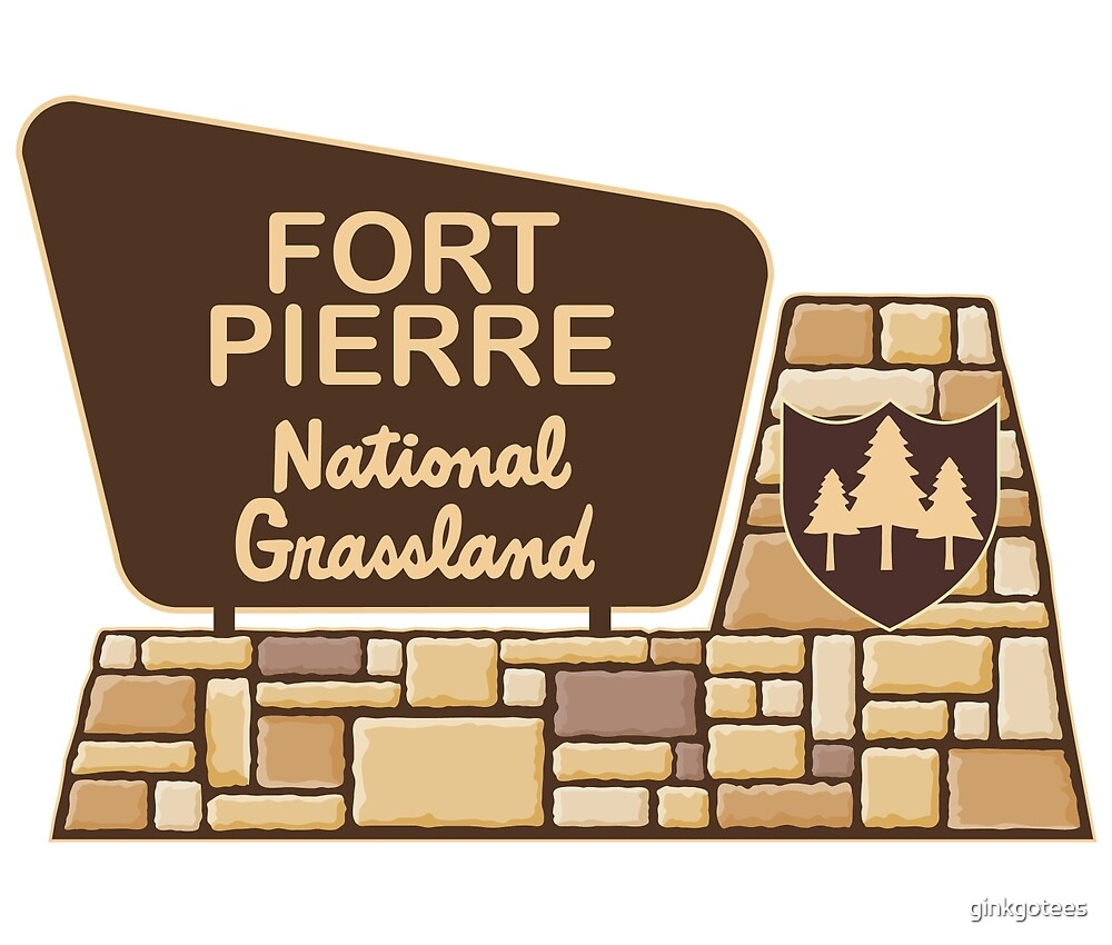Fort Pierre National Grassland by ginkgotees