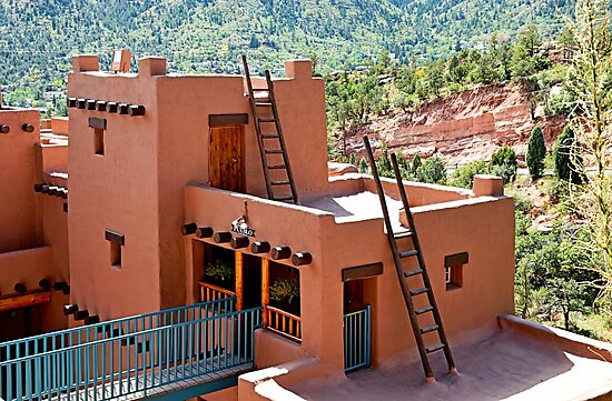Manitou Cliff Dwellings Study 12  by Robert Meyers-Lussier