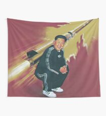 Tracksuit Rocket Man Wall Tapestry