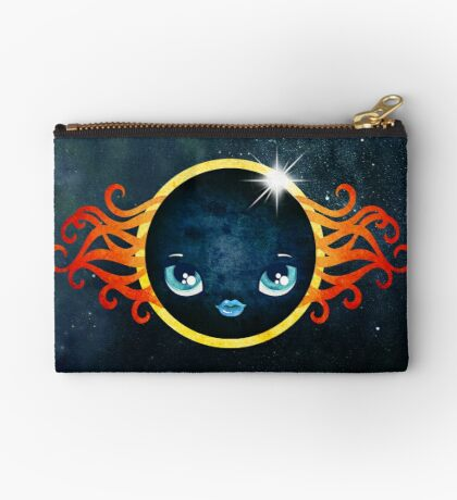 Solar Eclipse 2017 Zipper Pouch
