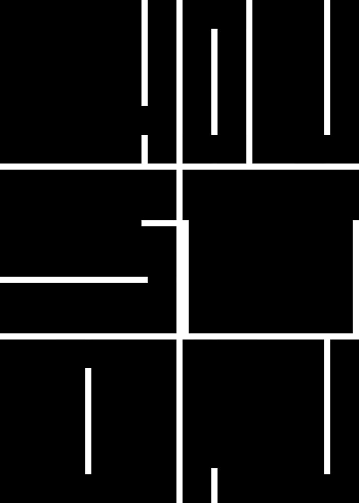 HOUSTON TEXAS City Block Graphic by joshbergman