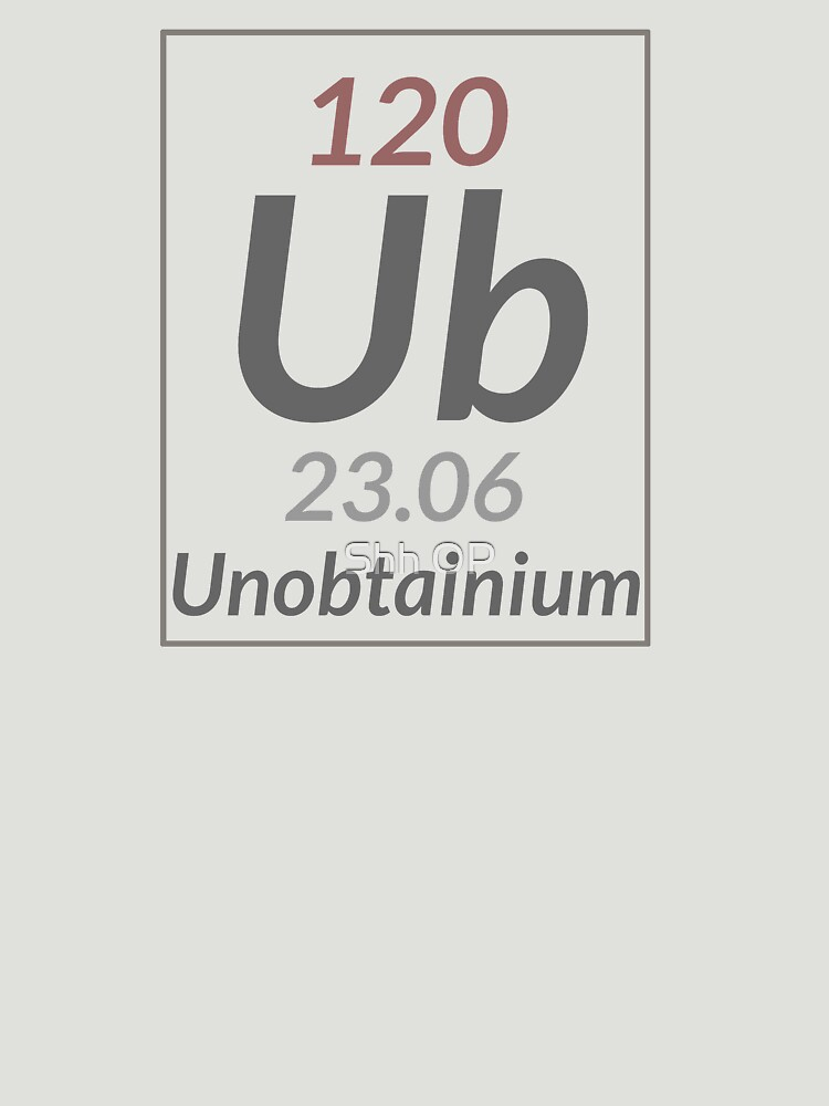 Element 120 Unobtainium by shhevaun