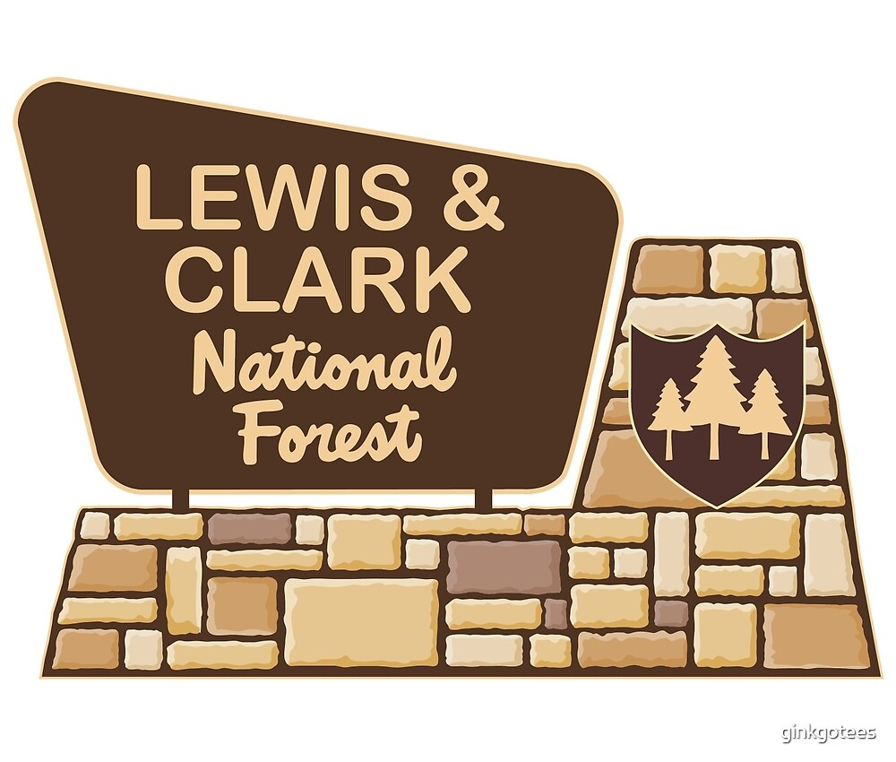 Lewis and Clark National Forest by ginkgotees