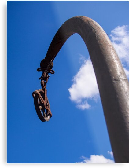 Rusted Pulley by Michael McGimpsey