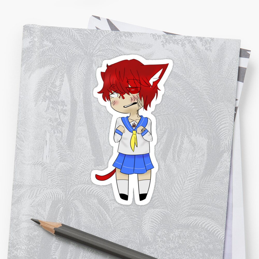 Fukase school girl by DeathPleez