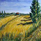 Corn Field I by Claudia Hansen