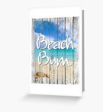 Beach House Coastal art Greeting Card