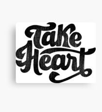 Take Heart Canvas Print