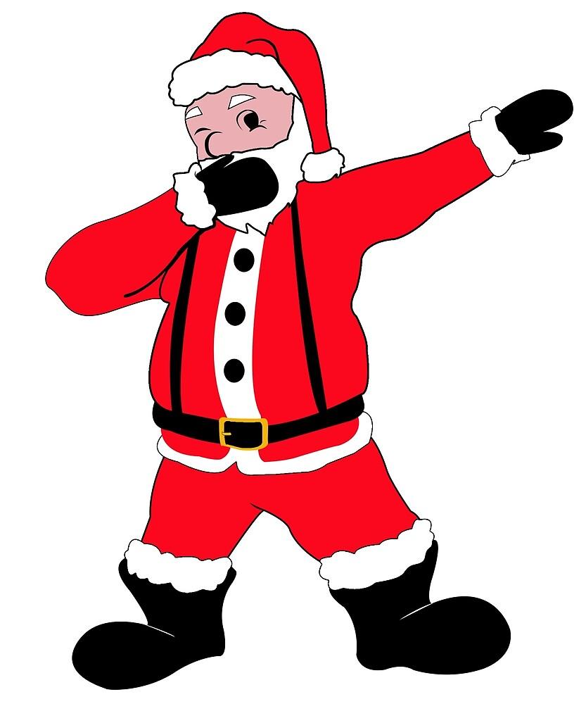 Dabbing Santa by CreativeStrike