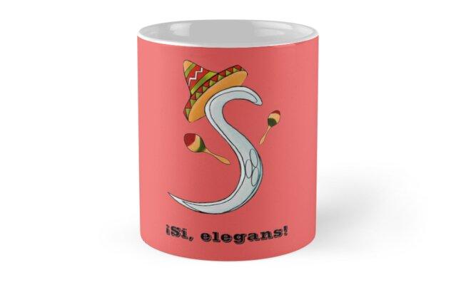 ¡Si, elegans! Classic Mugs